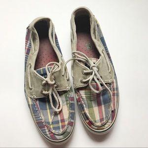 ⭐️MUST BUNDLE⭐️ Sperrys • Plaid Boat Shoes